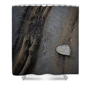 Art Rock Shower Curtain
