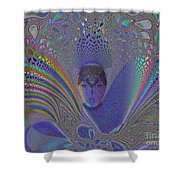 Asian Flight Of Vision Shower Curtain