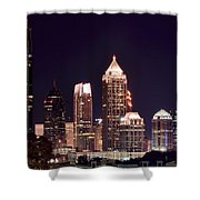 Atlanta From Above Shower Curtain