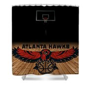 Atlanta Hawks Shower Curtain