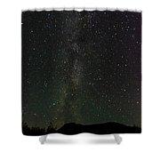 Aurora Borealis, Kantishna, Alaska Shower Curtain