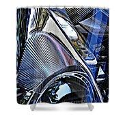 Auto Headlight 21 Shower Curtain