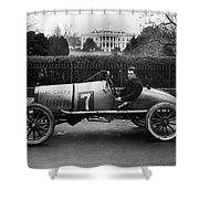 Automobiles Racing Shower Curtain