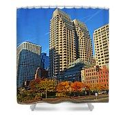 Autumn In Boston Shower Curtain