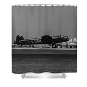 Avro Lancaster Shower Curtain