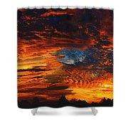 Awe Inspiring Sunset Shower Curtain