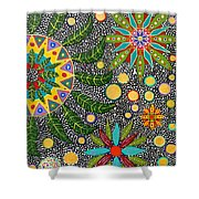 Ayahuasca Vision Shower Curtain