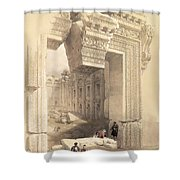 Baalbec Shower Curtain by David Roberts