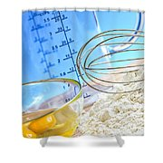 Baking Shower Curtain by Elena Elisseeva
