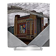 Baltic And Gateshead Millennium Bridge Shower Curtain