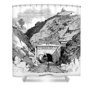 Baltimore & Ohio Railroad Shower Curtain