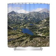 Banderishki Lakes Pirin National Park Bulgaria Shower Curtain