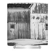 Barn Shower Curtain