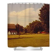 Barns And Landscape Shower Curtain