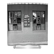 Baseball Nostalgia Shower Curtain