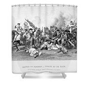 Battle Of Camden, 1780 Shower Curtain