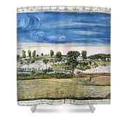 Battle Of Concord, 1775 Shower Curtain