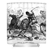 Battle Of Cowpens, 1781 Shower Curtain