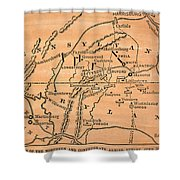 Battle Of Gettysburg, 1863 Shower Curtain