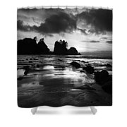 Beach 10 Shower Curtain