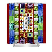 Bejeweled 1 Shower Curtain