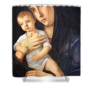 Bellini's Madonna And Child Shower Curtain