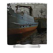 Bering Sea Shower Curtain