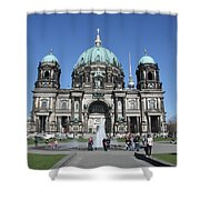 Berliner Dom Shower Curtain
