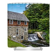 Blow Me Down Mill Cornish New Hampshire Shower Curtain