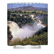 Blue Nile Falls Shower Curtain