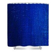 Blue Strokes Shower Curtain