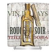 Bordeaux Blanc 1 Shower Curtain