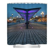 Bournemouth Pier Shower Curtain