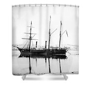 Brazilian Steamship, 1863 Shower Curtain