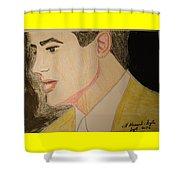 Brendan Fraser Shower Curtain