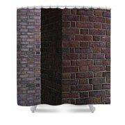 Brick Columns Shower Curtain
