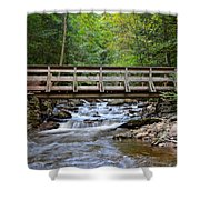 Bridge To Paradise Shower Curtain