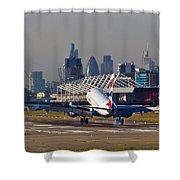 British Airways London Shower Curtain