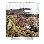 Brittany Coast Shower Curtain