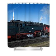 Brockenbahn Shower Curtain