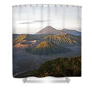 Bromo  Valley  Java Indonesia Shower Curtain