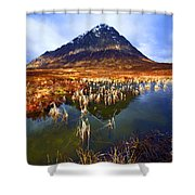 Buachaille Etive Mor Scotland Shower Curtain by Craig B