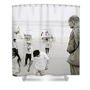 Buddhism Shower Curtain