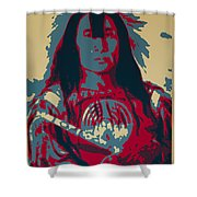 Buffalo Bull's Back Fat Shower Curtain