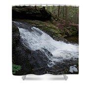 Buffam Falls Lower Cascade Shower Curtain