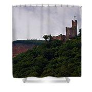 Burg Sooneck Am Rhine Shower Curtain