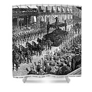 Burial Of Ulysses S Shower Curtain