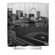 Busch Stadium Saint Louis Mo Shower Curtain