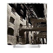 Butlers Wharf Art Shower Curtain