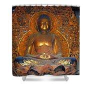 Byodo In - Amida Buddha Shower Curtain